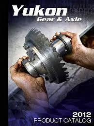 nissan titan yukon locker yukon gear 2012 catalog pdf axle gear