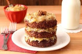 german chocolate cake for two