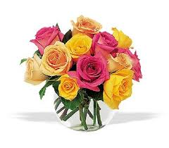 color roses tf68 3 color bowl victor the florist the best in flowers