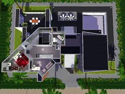 Modern Mansion Floor Plans by Home Design Modern House Floor Plans Sims 4 Style Large Modern