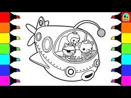 disney octonauts coloring pages kids family adventures