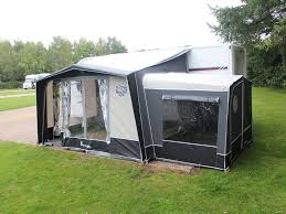 Used Caravan Awnings Isabella Magnum 250 Coal Practical Caravan