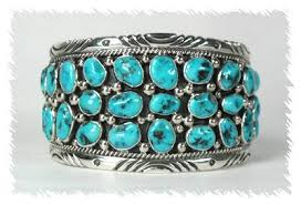 bracelet silver turquoise images Tommy moore navajo turquoise nugget cuff bracelet large jpg