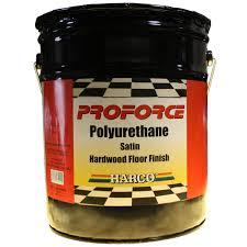 proforce polyurethane satin hardwood floor finish 5 gallons