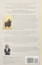 the goldfinch a novel pulitzer prize for fiction donna tartt