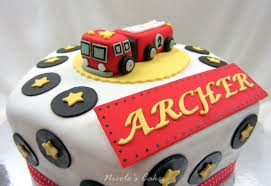 firetruck cakes on birthday cakes adorable firetruck cake
