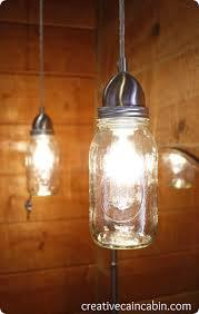 Mason Jar Pendant Light Mason Jar Pendant Light