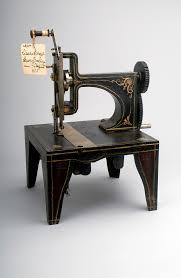 Sewing Machine Parts Diagram Worksheet 1851 Singer U0027s Sewing Machine Patent Model National Museum Of