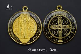 catholic pendants 25 pcs different catholic religious gifts st benedict
