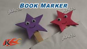 diy how to make bookmarker easy craft for kids jk arts 257
