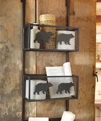 bear decor wilderness home decor black bear gifts