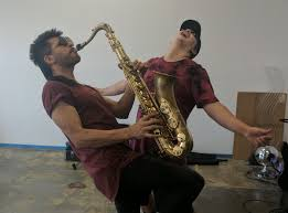 Sexy Sax Man Meme - jimmy here on twitter met the sexy sax man this weekend