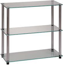 amazon com convenience concepts designs2go go accsense 3 shelf