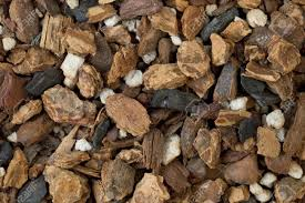 orchid bark background of orchid bark mix contains fir bark charcoal and