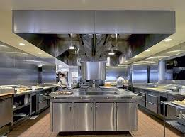 pretty looking open commercial kitchen design our services on home