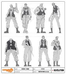 watch dogs concept art character creative conceptart