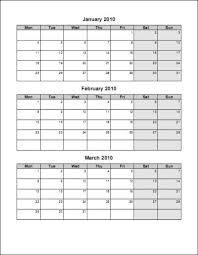 blank calendar template word 2016 3 month calendar template word tire driveeasy co