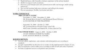 nursing student resume with no experience nursing student skills for resume megakravmaga com