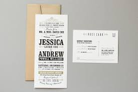 Vintage Wedding Programs Jessica Andrew U0027s Vintage Inspired Typography Wedding Invitations