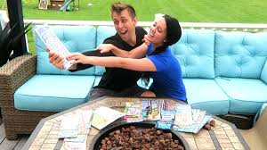 Challenge Romanatwood Holy Sh T We Won Lottery Challenge