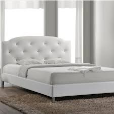 acme furniture ireland white queen upholstered bed 14390q the