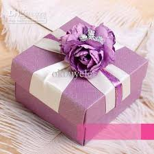 candy favor boxes wholesale wholesale purple plaid wedding favor box themed wedding favors