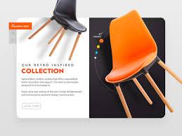 Chair Website Design Ideas Daily Ui 5 The Levitating Chair Website Ideas App Ui And Web