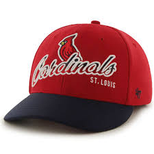 Ottoman Cap St Louis Cardinals 47 Banks Ottoman Flex Hat Navy