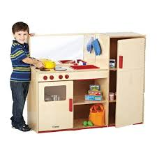 preschool kitchen furniture becker s preschool combo kitchen with refrigerator becker s