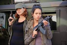 Red Awn Adrianne Palicki Takes Her Lumps In Remake Of U0027red Dawn U0027 Ny