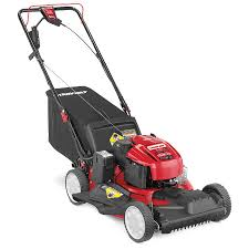 shop troy bilt tb280 es 190cc 21 in electric start self propelled