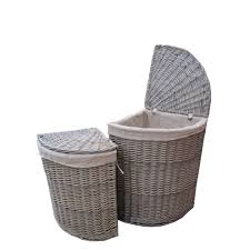 3 Section Laundry Hamper by Home Tips Canvas Laundry Hamper Large Laundry Sorter Clothes