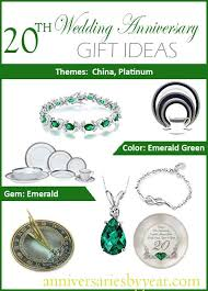 20th anniversary gift ideas twentieth anniversary 20th wedding anniversary gift ideas