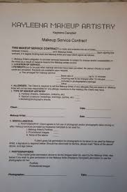 makeup contracts for weddings how to protect yourself as a makeup artist