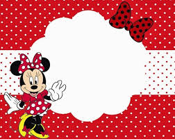 minnie mouse template for invitation orax info