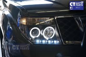 nissan pathfinder for sale ebay angel eyes black headlight for pathfinder r51 nissan navara d40 clr