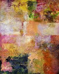 Opaque Couche Abstrait Multicolore Couche Uvre Textures De Peinture à L U0027huile