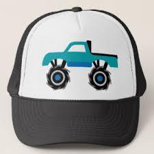 monster truck hats zazzle