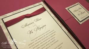 red wedding invitations u2013 a vibrant wedding
