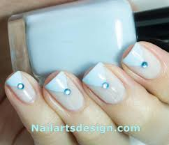 blue nail designs and blue dot nail art designs
