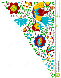 moravian folk bird ornament royalty free stock image image 37627086