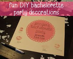 Bachelorette Party Decorations P S Diy Bachelorette Party Decorations Paper Spark