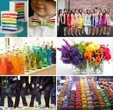 wedding theme ideas collection rainbow wedding theme decoration ideas nationtrendz