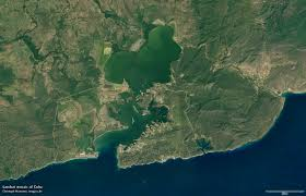 Guantanamo Bay Map Landsat Mosaic Of Cuba Imagico De Geovisualizations