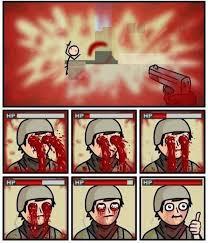 Bleeding Eyes Meme - cod logic meme by soydolphin memedroid