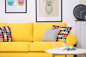 Orange Sofa Throw 35 Sofa Throw Pillow Examples Sofa Décor Guide