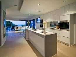 narrow kitchen with island kitchen inspiration open plan kitchen dining area with white high