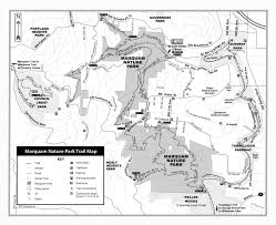 Map Portland Or by Friends Of Marquam Nature Park