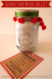 my very educated mother homemade laundry soap mason jar gift