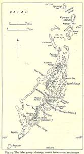 Palau Map Nationmaster Maps Of Palau 17 In Total